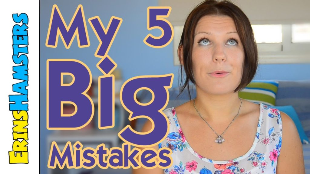 My 5 Biggest Hamster Mistakes (Chatty Video)
